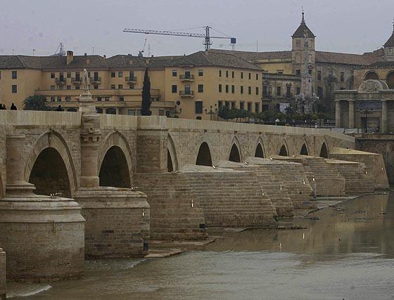 El nuevo aspecto del Puente Romano