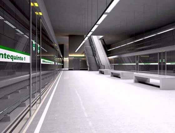 Así serán las estaciones del metro