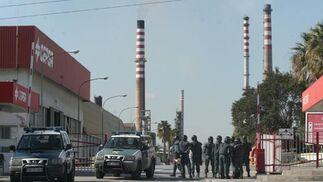 Incidentes en la refinería de San Roque