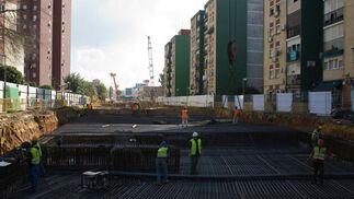 Completados en un año 200 metros de túnel del Metro en Montequinto