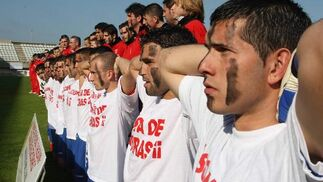Algeciras CF: encierro y protesta