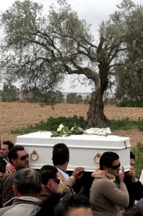 Último adiós a Mari Luz