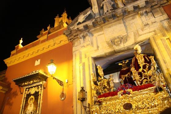Salida del Dulce Nombre en San Lorenzo