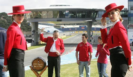 Las motos llegan a Jerez