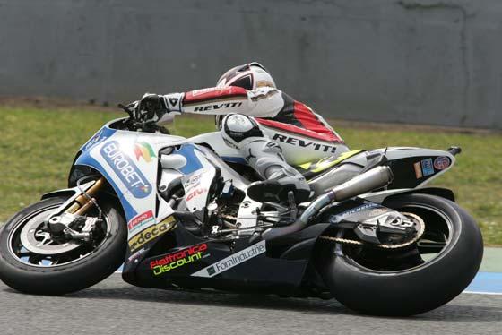 Entrenamientos de Moto GP en Jerez