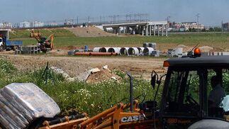 Desarrollo de las obras del metro en el Aljarafe y Sevilla