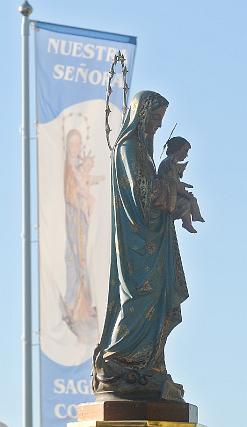 Procesión de la Virgen del Perpetuo Socorro