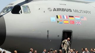 Presentación del A400M en Sevilla