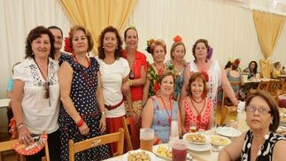La feria de Algeciras, en clave femenina