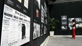 La UCA inaugura la exposición 'Nueva York y la Guerra Civil española'
