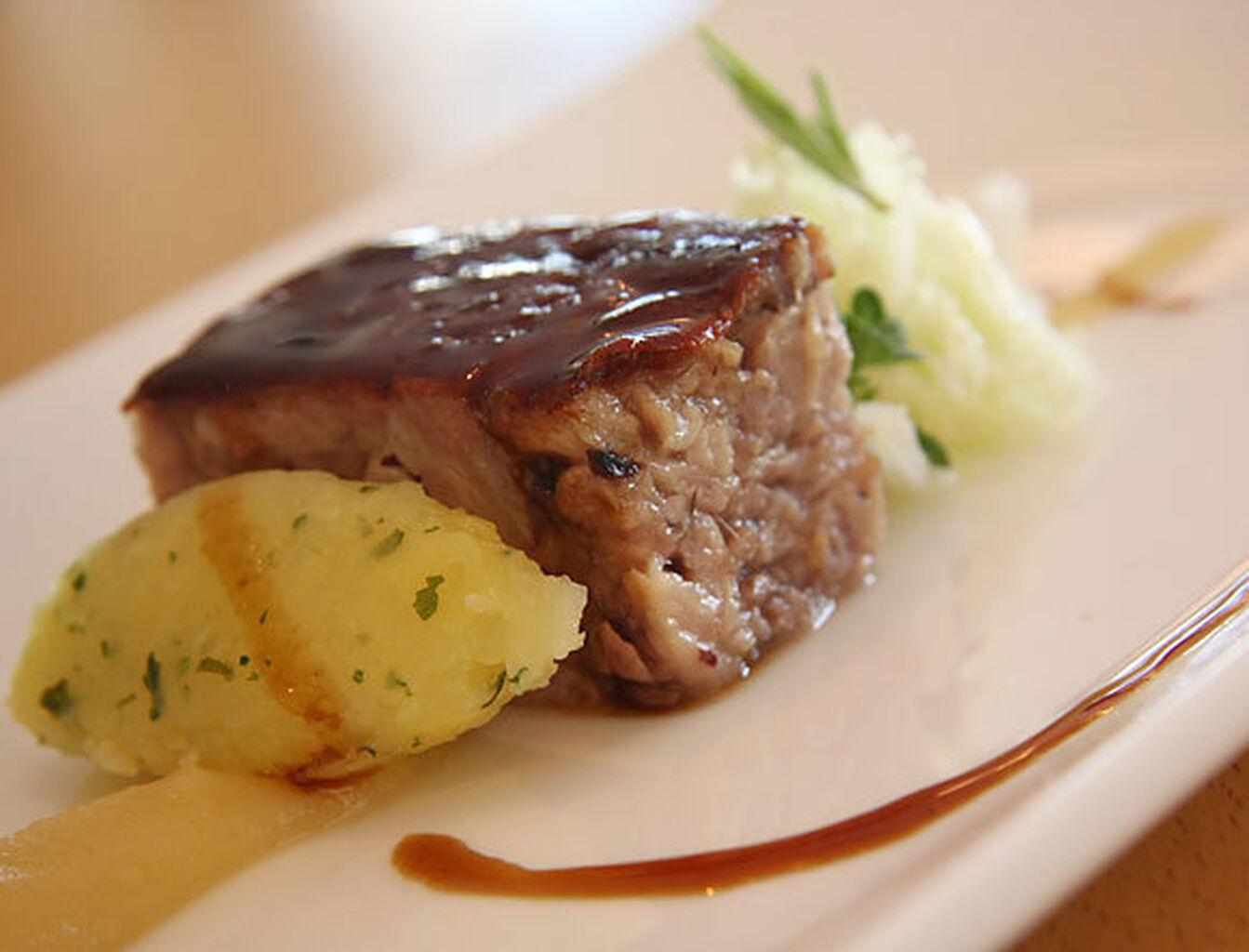 La Receta Carne De Cerdo Para La Alta Cocina