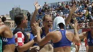Final del Campeonato del Mundo de Balonmano Playa