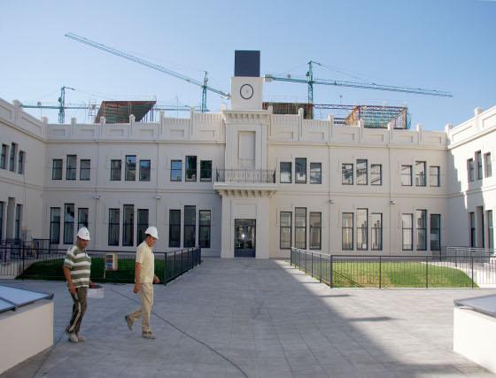 Visita al nuevo Campus de Pirotecnia de la US