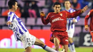 Las imágenes del Valladolid-Sevilla (3-2)