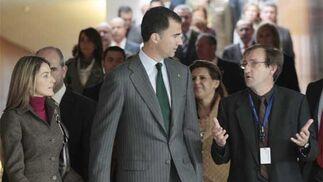 Don Felipe y Doña Letizia visitan Granada