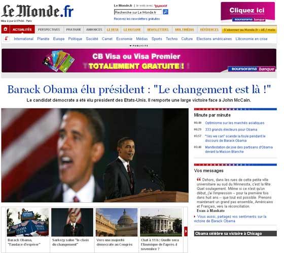 Obama, icono mundial
