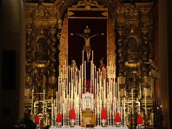Quinario al Santísimo Cristo de las Siete Palabras.  Foto: Juan Parejo