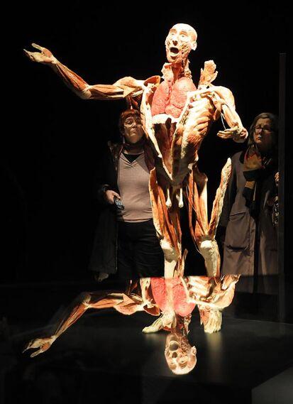 Las obras muertan movimientos y sensaciones reales para transmitir realismo.  Foto: Juan Carlos Vazquez