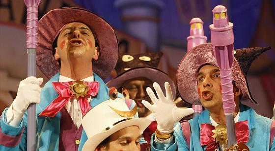 Buena imagen del coro de Sevilla Pecci, Tovar y Bohórquez.   Foto: Jose Braza
