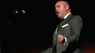 Antonio Rivera Palacios al cante por saetas.  Foto: Belen Vargas