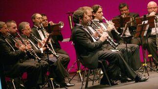 La Banda Sinfónica Municipal de Sevilla interpretó varias marchas procesionales.  Foto: Belen Vargas