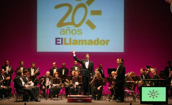 La Banda Sinfónica Municipal de Sevilla dirigida por Francisco Javier Gutiérrez.  Foto: Belen Vargas