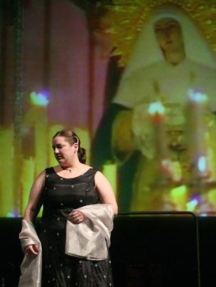 Un momento del acto.  Foto: Belen Vargas