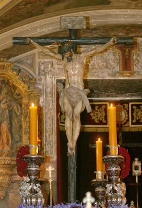 Cristo del Calvario.  Foto: Belén Vargas