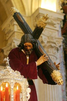 Señor de Pasión.  Foto: Belén Vargas