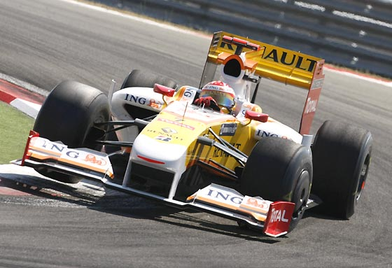 Alonso (Renault).  Foto: AFP Photo / Reuters / EFE