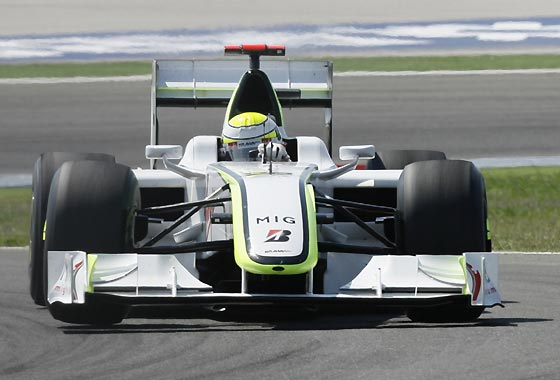 Button (Brawn GP).  Foto: AFP Photo / Reuters / EFE