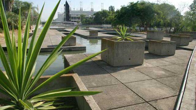 El jard n americano paseo de rivera y jardines del for Jardin belen villa ballester
