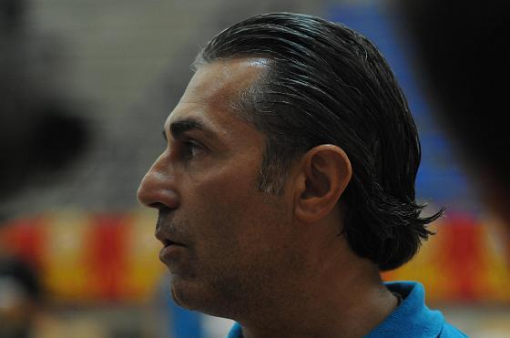 Sergio Scariolo, seleccionador español.  Foto: Javier Gonzalez