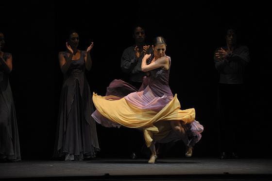 Sara Baras cerró a lo grande el ciclo Conciertos por la Libertad con su espectáculo 'Juana la Loca'.  Foto: Joaquin Hernandez Kiki