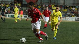 Rubiato anotó el tanto inicial del partido y el primero en su cuenta realizadora en lo que va de pretemporada.  Foto: J.D.Corzo