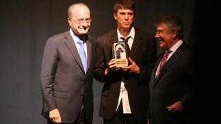 El cantante malagueño Javier Ojeda fue nombrado abanderado oficial de la Feria de Málaga.