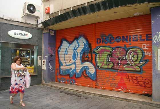 Loclaes disponibles tras el cierre de tiendas  Foto: Victoria Hidalgo