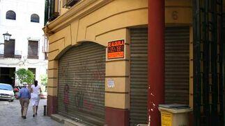 El alquiler desciende ante la falta de negocio  Foto: Victoria Hidalgo