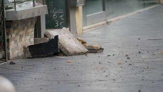 Detalles de los escombros.  Foto: Belén Vargas
