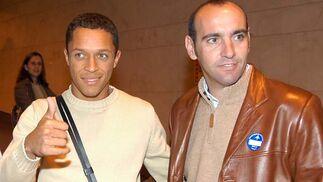 Llegada de Adriano en enero de 2005.
