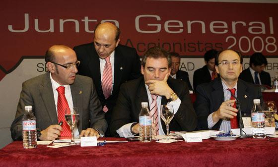 Monchi entra en el consejo de administración del Sevilla en diciembre de 2008