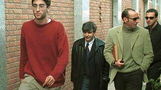 Con Rubén Vega cuando fichó por el Sevilla