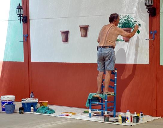 Con mucho esmero y dedicación, los dueños de las casetas adecúan sus instalaciones