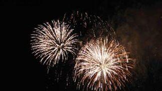 Fuegos artificiales Feria de Málaga 2009.
