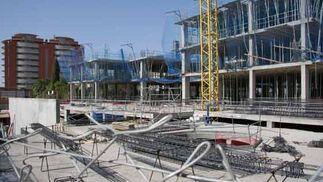 Obras en el futuro hospital de Bellavista.  Foto: Belén Vargas