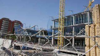 Obras en el futuro hospital de Bellavista.Obras en el futuro hospital de Bellavista.  Foto: Belén Vargas