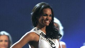 La dominicana  Ada Aimee de la Cruz, elegida primera finalista.  Foto: Efe