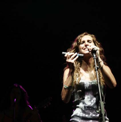 Conchita en concierto durante la Feria de Málaga.  Foto: PUNTO PRESS