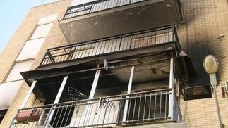Bloque de viviendas donde se ha producido el suceso.  Foto: Victoria Hidalgo