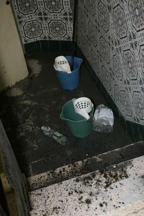 Un vecino alertó del fuego a los servicios de emergencia 112.  Foto: Victoria Hidalgo
